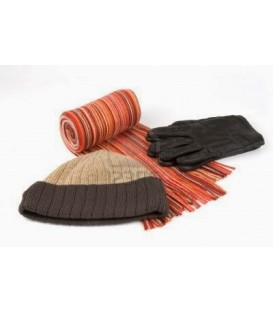 Guantes, bufandas y gorros escolares de niño