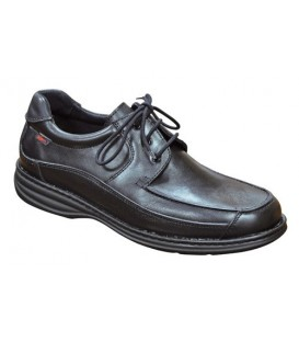 Zapato Hombre cierre cordones puntera redonda