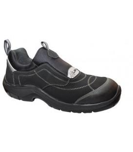 Zapato con puntera de seguridad y plantilla antiperforación, no metálicas