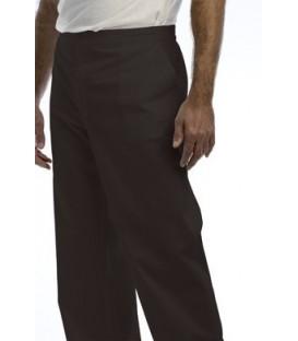 Pantalón con dos bolsos franceses y uno posterior de plastrón.